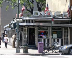 Cheyenne Diner på 9.th Ave. New York i 2007. Nedlagt og flytta i 2008